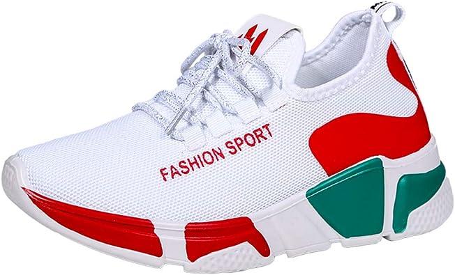 AOQUNFS Zapatillas de Baile Jazz de Mujer Zapatillas de Deportivos Entrenamiento Running Gimnasia,YMJ8191: Amazon.es: Zapatos y complementos