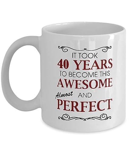 Amazon 40th Birthday Mug