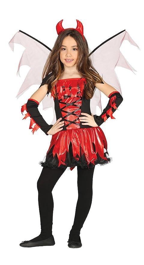 Guirca costume vestito abito travestimento carnevale halloween bambina  diavoletta diavolessa diavolina fire devil jpg 480x879 Costume 82ac51738e85