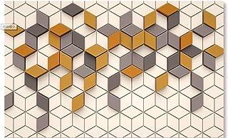 Murales Da Parete Wallpaper Decorazione Carta Da Parati Murale Personalizzato Soggiorno Camera Da Letto Moda Retro Ginger Mosaico Mosaico Murale 3D Home Decor 430 * 300Cm