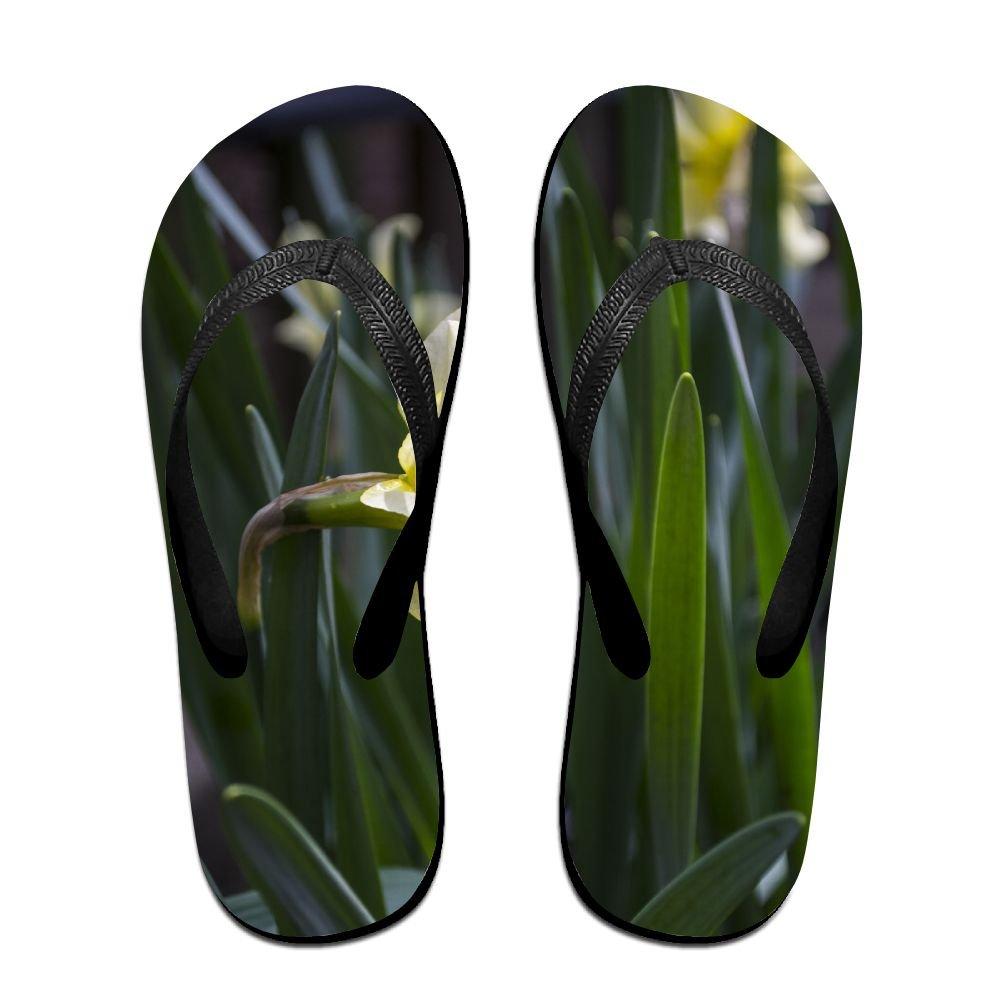 Unisex V Flip Flops Herbarium Spring Personalized Summer Slipper