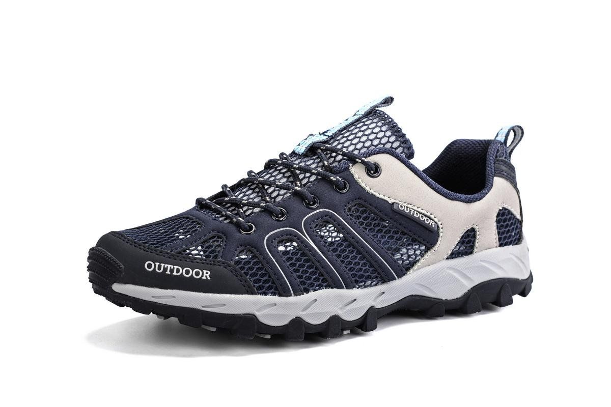 PINGYE Hiking Shoes Mountaineering Shoes Outdoor Walking Sneakers for Men Women HS996 B071ZYZW4F 10.5 B(M) US Women = 9 D(M) US Men|Blue
