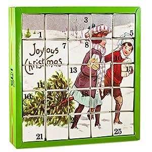 Amazon Com English Tea Shop Joyous X Mas Advent Calendar