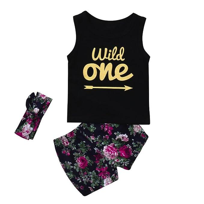 2-10Y Mädchen Kleidung Set Sommer Buchstaben Gedruckt Ärmellose T-Shirt Weste Tops + Blumen Rock Kleid Baby Mädchen Outfits prinzessin kleid