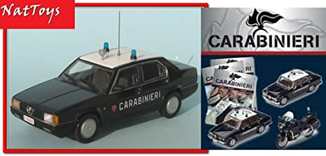 "DIE CAST /"" ALFA ROMEO ALFETTA 1972 /"" SCALA 1//43 CARABINIERI"