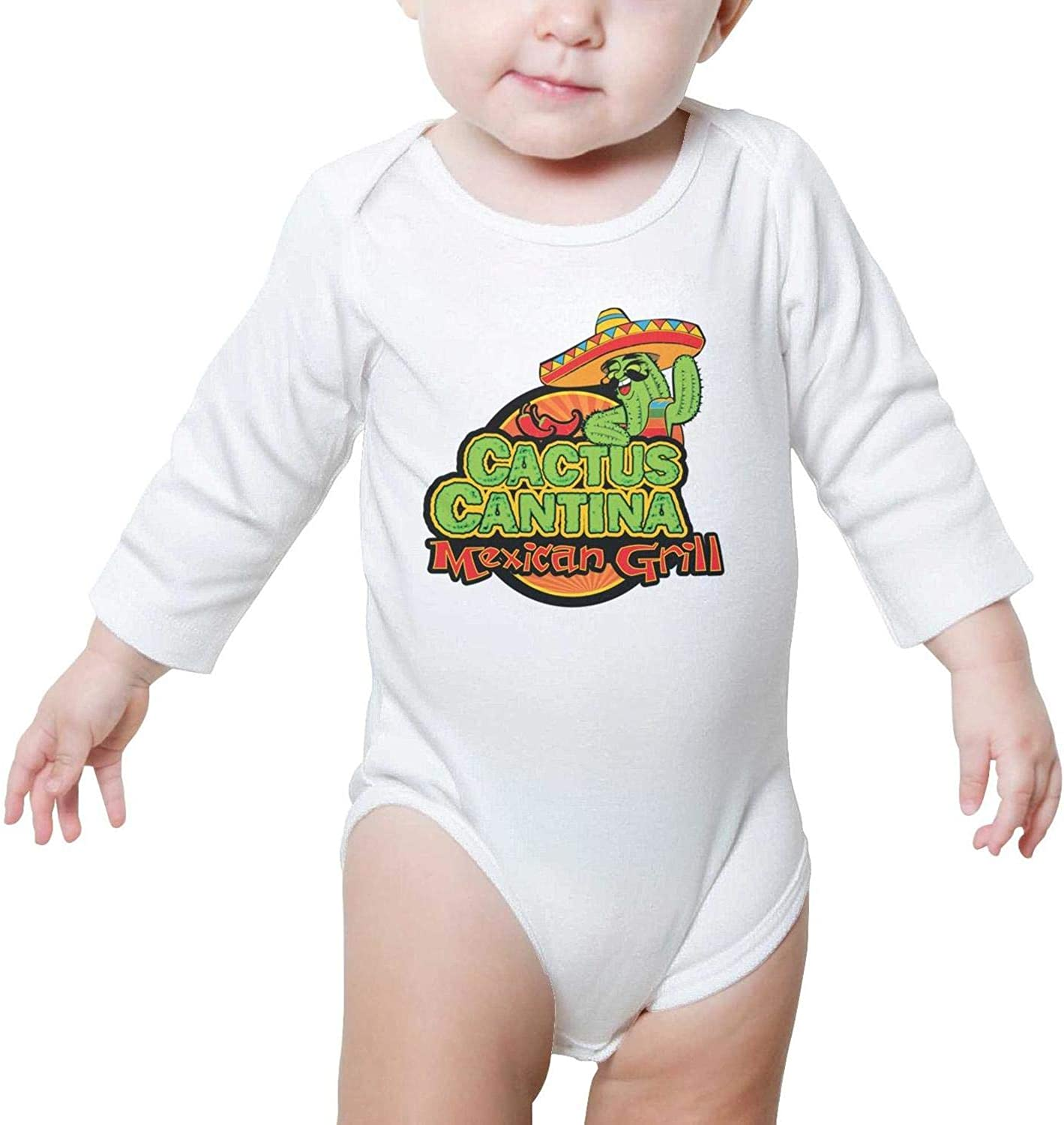 SHUOCDAH Cactus Mexico Cartoon Baby Boys Girls Beautiful Baby Outfits