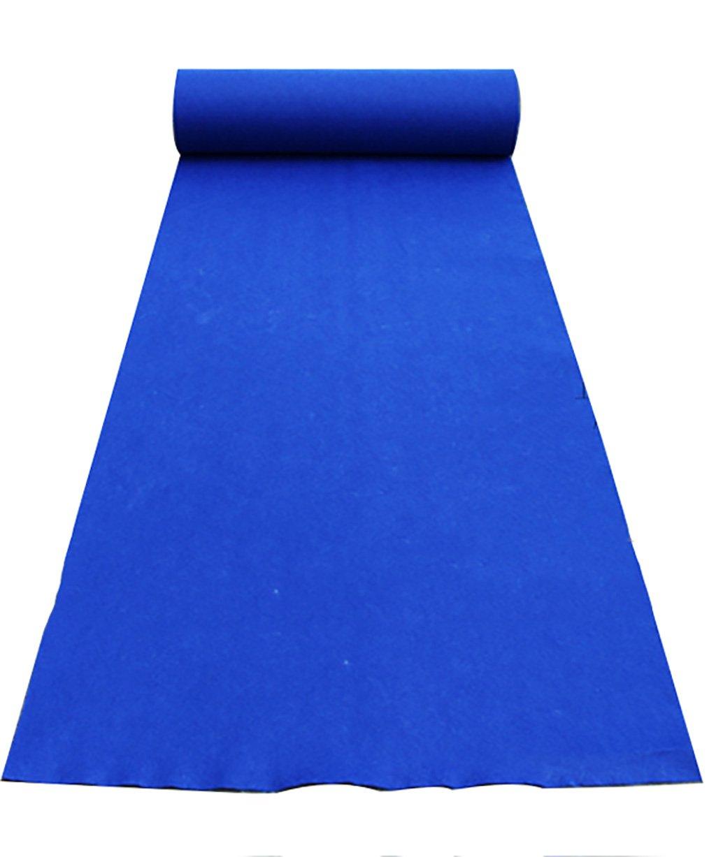 通路ランナーの結婚式 結婚式の敷物使い捨ての敷物式階段ステージ結婚式の背景装飾的な敷物 - 宝石用原石の青、1.8 mm厚さ8サイズオプション 結婚式の装飾カーペット (サイズ さいず : 1.2m*50m) 1.2m*50m  B07QN2YRC4