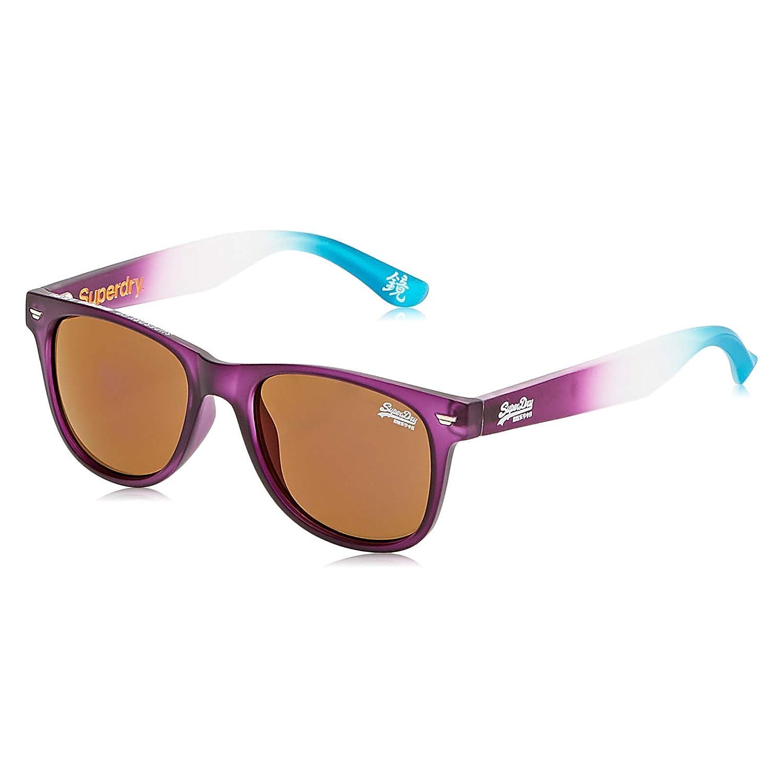 Superdry Sonnenbrille Superfarer 161 Herrenmodell Cat.3 Kunststoff Violett Braun