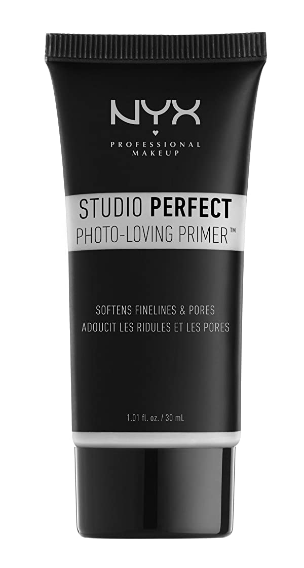 NYX Studio Perfect Primer, Clear, 1.0 oz/30ml (Color: Clear, Tamaño: Full Size)