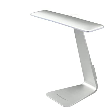LED Desk Lamp, Hapurs Touch Sensitive Controller LED USB Dimmable  Rechargeable Portable Lightweight Table Reading