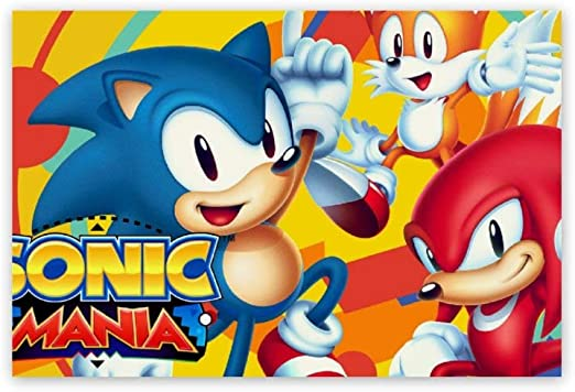 Amazon.com: Gibson Annime Sonic Poster, Sonic The Hedgehog Tails Knuckles  (3), 3D Print Wall Art For Living Room, Bedroom, College Dorm Home  Decorations Giclee Oil Paintings, 8x12 Inch: Posters & Prints