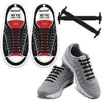 Homar No Tie Lacci per scarpe per bambini e adulti - Impermeabile in silicone elastico piatto Laces Athletic scarpa da corsa con multicolore per Scarpe Sneakerboots bordo e scarpe casual