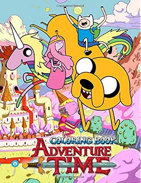 Adventure Time Coloring Book: 50 Coloring Pages Of Your Favourite  Characters From The Land Of OOO: Werner, Gabriele: 9781709813061:  Amazon.com: Books