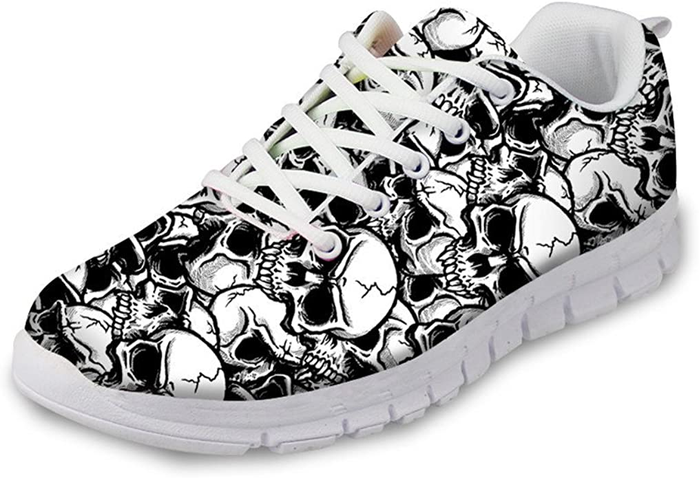 Vintage Floral Roses Casual Shoes for Women athletic Breathable Best Running Shoes