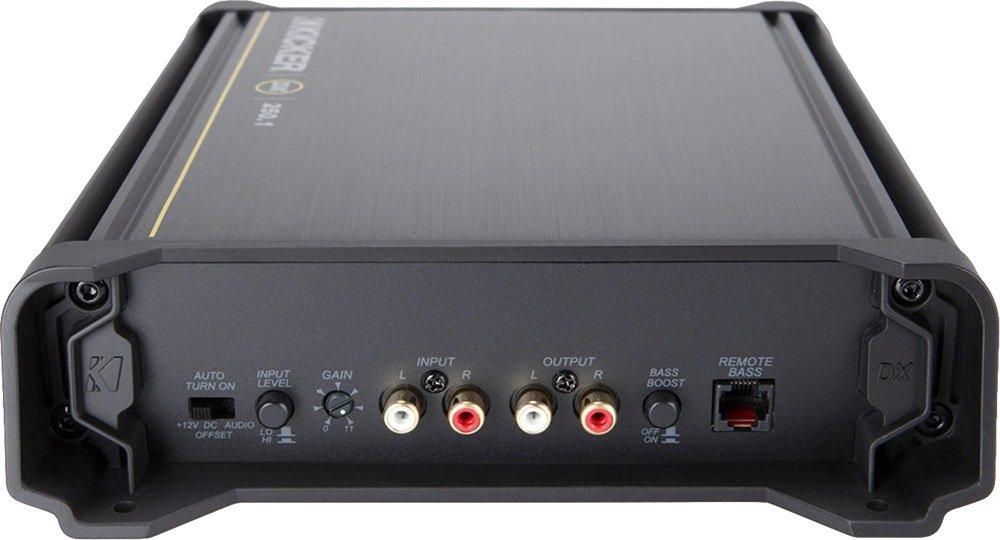 amazon com new kicker dx250 1 250w 2 ohm mono class d car audio amazon com new kicker dx250 1 250w 2 ohm mono class d car audio amplifier amp 11dx2501 car electronics