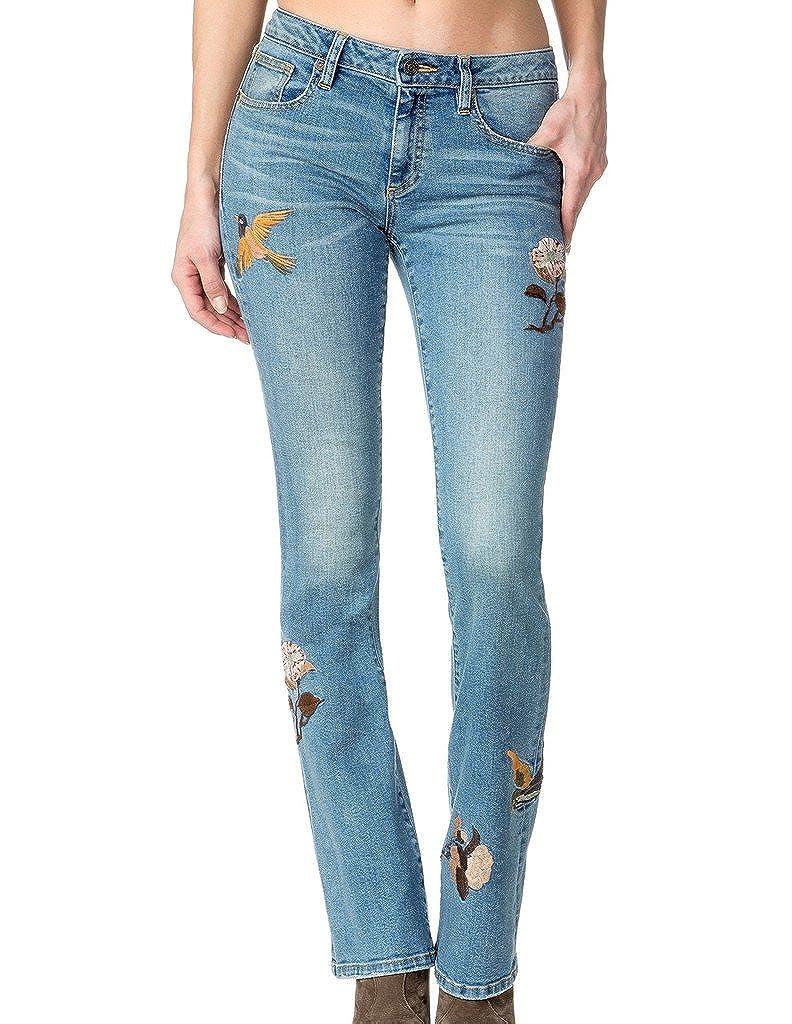 Miss Me Womens Like Woah MidRise Boot Cut Jean
