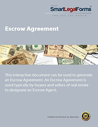 Amazon Com Escrow Agreement Instant Access Software