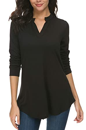 fd7afe038f8 Image Unavailable. Image not available for. Color  Zattcas Womens Tunic Tops