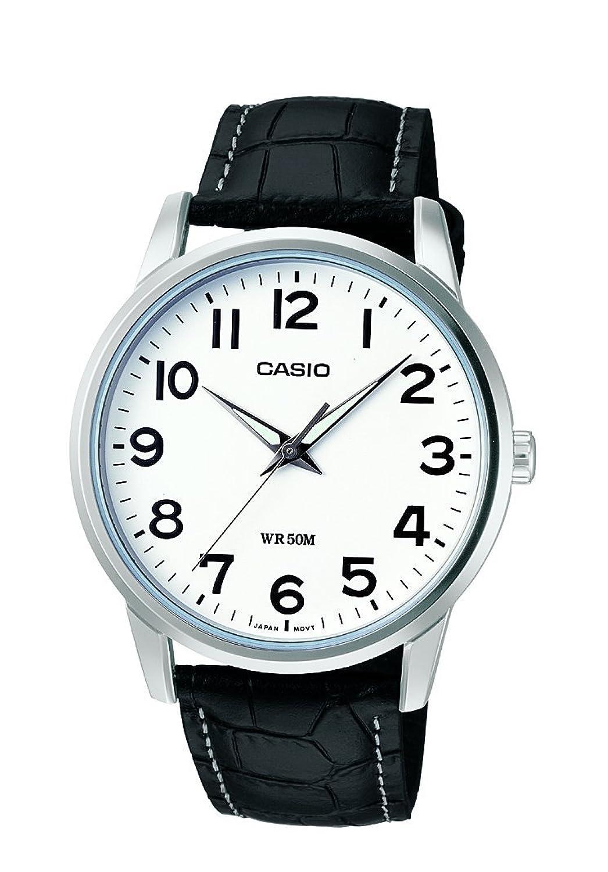 Casio Collection Reloj Analógico de Cuarzo para Hombre con Correa de Correa