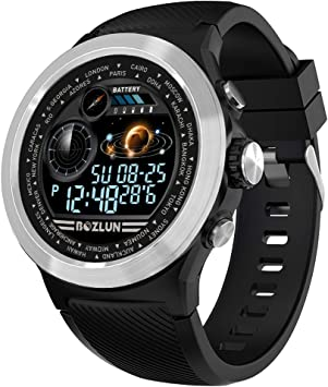 BOZLUN Reloj Inteligente Hombre,Mujer Pulsera Actividad Multifuncion Color Monitor,Monitor de Calorías, Sueño para Android y iOS,IP67 a Prueba de Agua ...