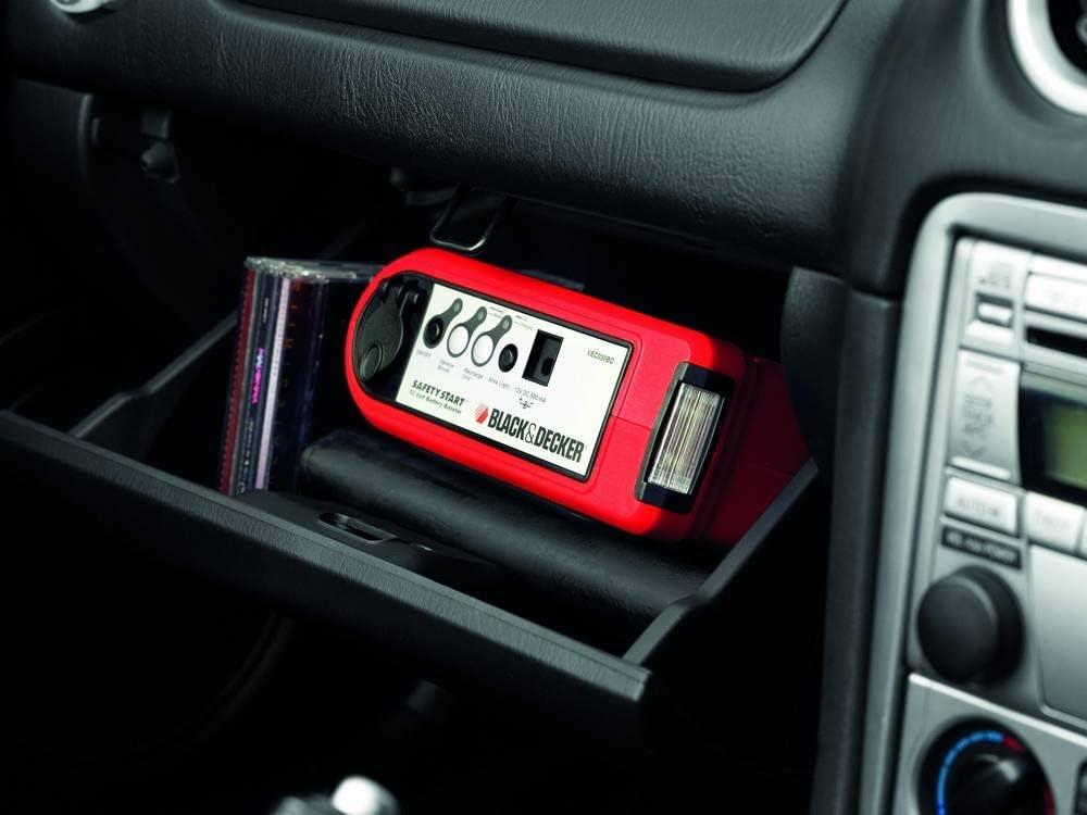 Decker 0190101 Bdv040 Power Starter per Auto Black
