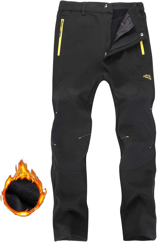 Singbring Womens Outdoor Windproof Hiking Pants Waterproof Ski Pants
