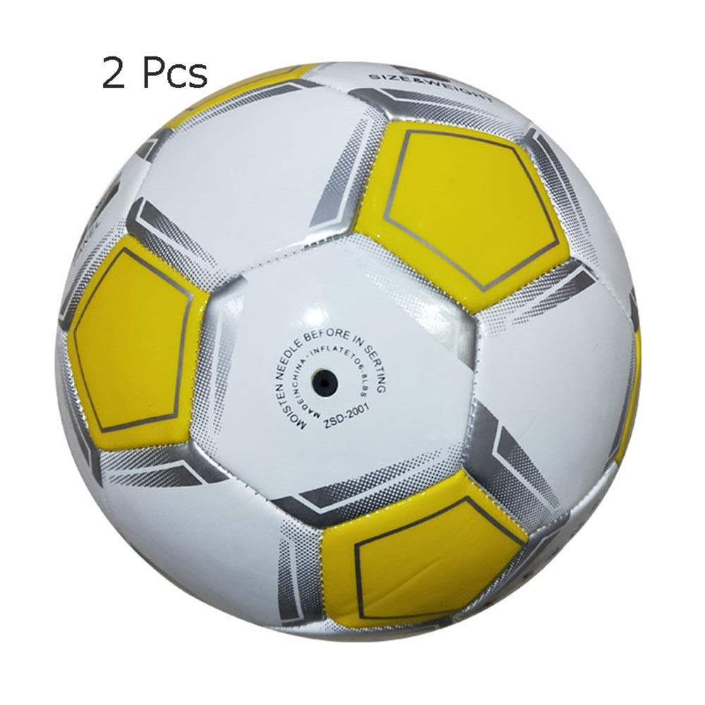 Liuxina Children's Football Children's Soccer Ball for Indoor Outdoor Sport Wearable Official Size 5 Football Adult Primary School Training Competition Football Toy Great Gift for Boys and Girls by Liuxina