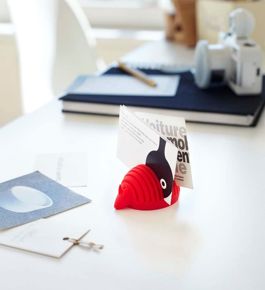 YAMAZAKI home Silicone Animal Card-Holder Brown//Turtle