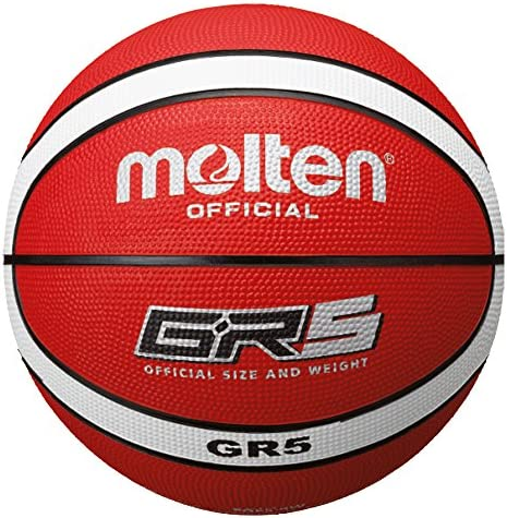 MOLTEN Basketball Bgr5-RW - Pelota de Baloncesto, Color Rojo ...