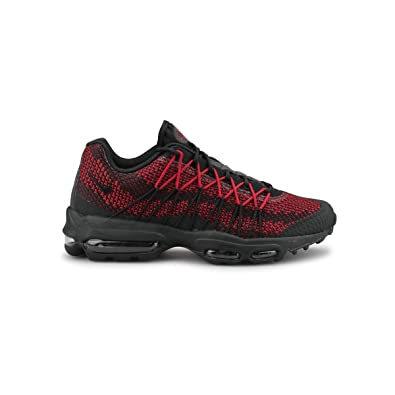 Nike Air Max 95 Ultra Jacquard Noir Rouge