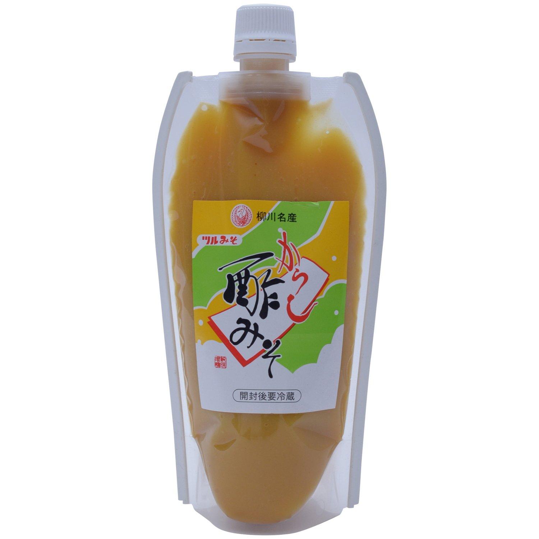 Cranes miso brewing mustard vinegared bean paste tube 360g by Crane miso brewing