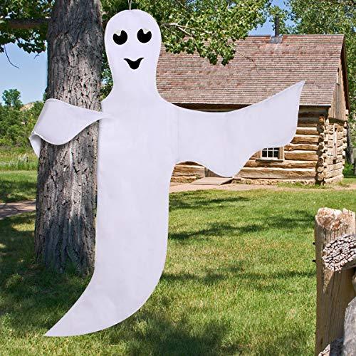 Moyeenee Halloween Decorations Peek A Boo Ghost - 5 x 1 x 40 Inches-Halloween Outdoor Yard Decorations