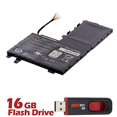 Battpit TM batería de ordenador portátil para Toshiba Satellite E55-A5114 (11.4 V 4160 mAh/47 Wh) [18 meses de garantía]: Amazon.es: Electrónica