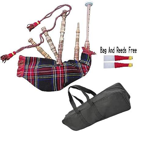 ab0bb65a92 HW Bagpipe Kids Junior reproducible varios tartanes, juguetes, niños, niños,  Scottish National Tartan: Amazon.es: Instrumentos musicales