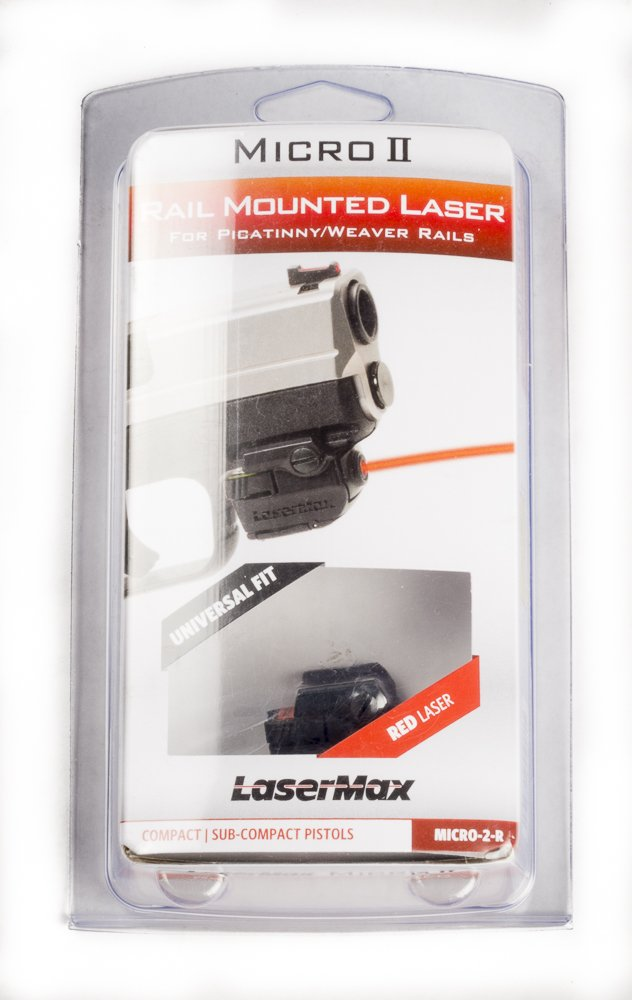 *Lasermax Micro-2-R Rail mounted laser sight (Red) by LaserMax