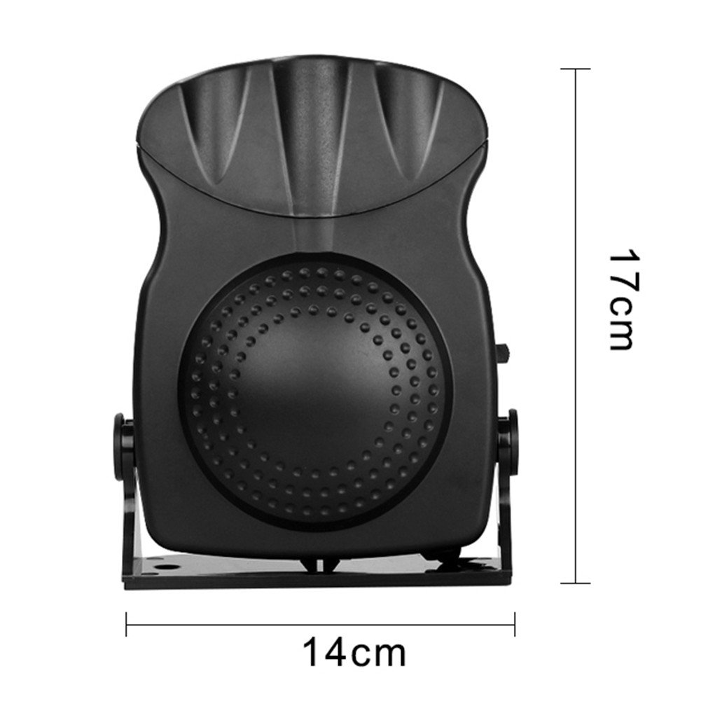 molie Chauffage Voiture 12V avec Ventilateur R/échauffeur de Voiture 150W D/égivreurs Pare-Brise