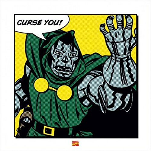 Posters: Doctor Doom Poster Art Print - Curse You