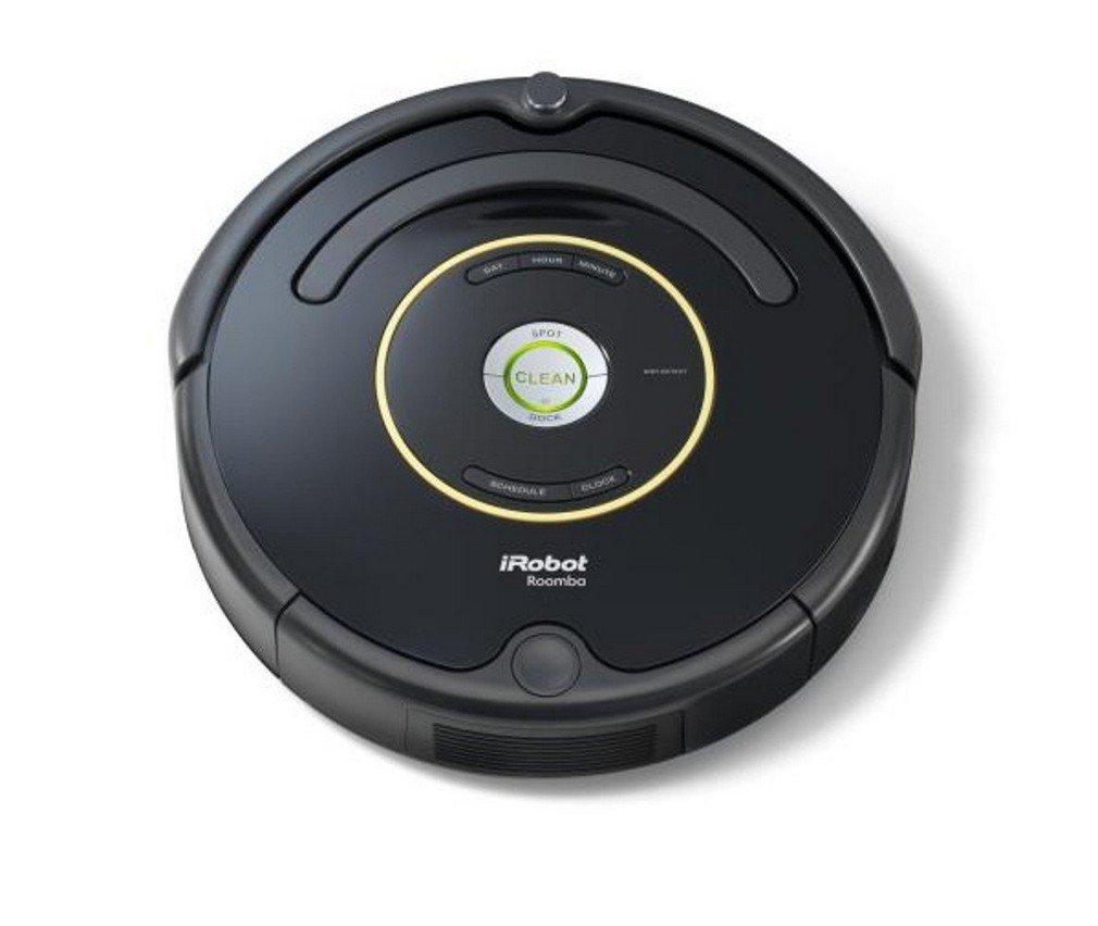 aspire tapis syst/ème de nettoyage puissant avec Dirt Detect noir id/éal pour les poils danimaux iRobot Roomba 650 Aspirateur Robot moquettes et sols durs nettoyage sur programmation