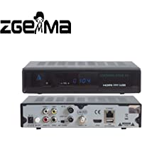 ZGEMMA STAR H2 Combo Receptor De TV FTA Linux OS DVB-S2+ DVB-T2/C Dos Sintonizadores/Decodificador(Satélite,Cable.Digital, HDMI)