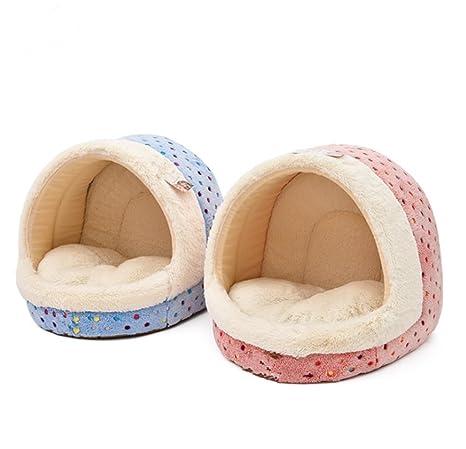 Mascota caseta de perro caliente ropa de cama invierno Cat House