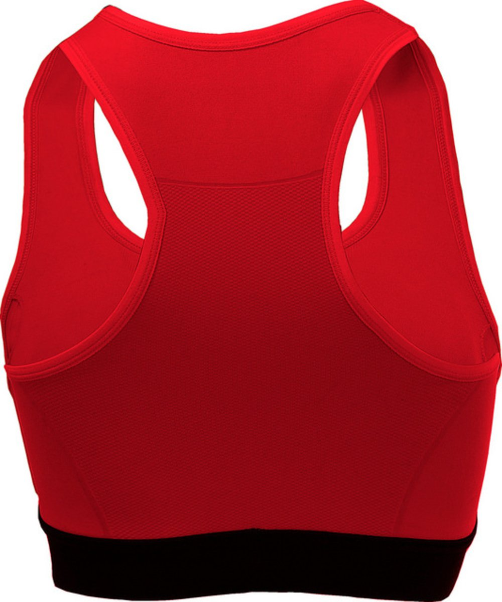 Sensoria Fitness Women's Low/Medium Support Sports Bra, Red, Extra Small by Sensoria Fitness (Image #3)