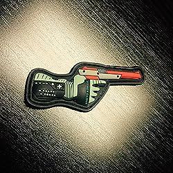 Nintendo Retro 3d Power Glove & Zapper Gun Morale Patch