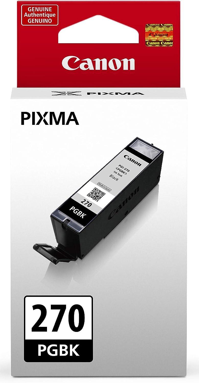 MG5721 TS9020 MG5722 Canon PGI-270 Pigment Black Ink Tank Compatible to MG6820 MG6821 MG6822 MG7720 TS8020 MG5720 TS5020 TS6020