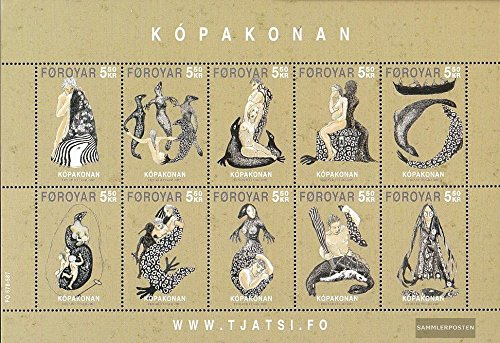 Denmark-Faroe Islands 586-595 Sheetlet (complete.issue.) 2007 the Sage of the Robbenfrau (Stamps for collectors)