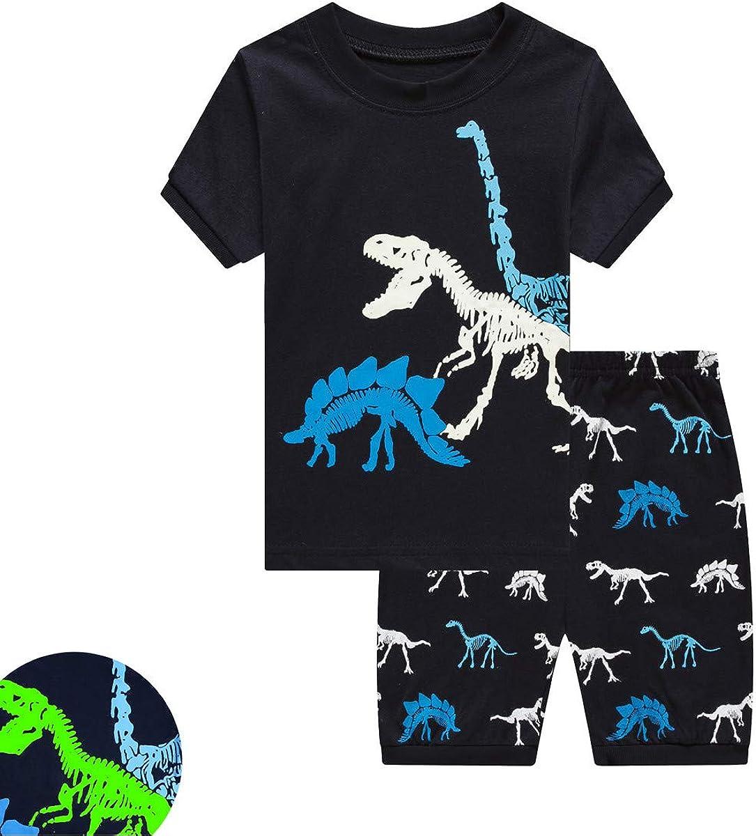 THECrafts Little Boys Kids Pajamas Sets 100% Cotton Pjs Toddler