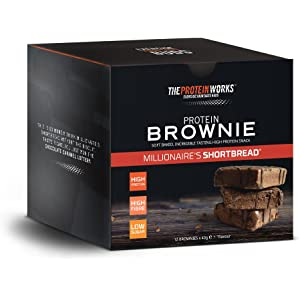 The Protein Works Brownies Proteicos - 12 Unidades