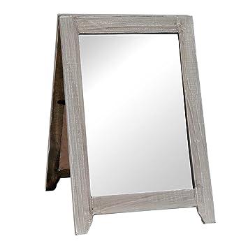 Spiegel Standspiegel clayre eef 63119 spiegel standspiegel ca 20 x 25 x 30 cm amazon