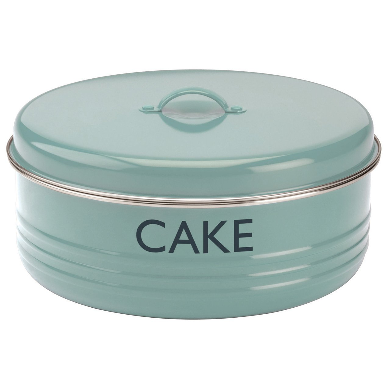 Amazon.com: Typhoon Summer House Blue Cake Tin, 4.5-Quart Capacity ...