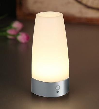 Amazon.com: PIR Motion Sensor Night Light,Lovingvs Battery-Operated ...