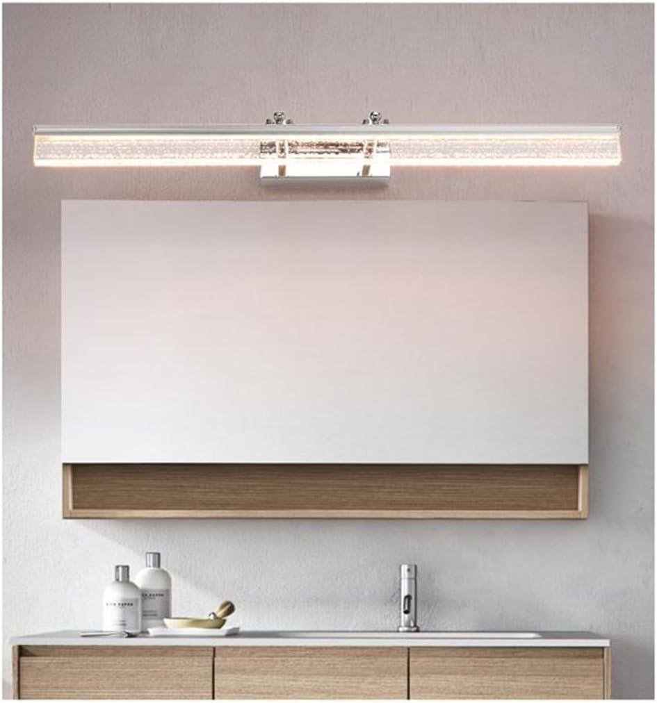 La luz del espejo LED, baño Cuarto de baño Simple y lámpara de Maquillaje Moderna Lámpara Larga de 1,5 Metros Luces de baño (Color : Luz Calida, Tamaño : 24W/150CM): Amazon.es: Hogar